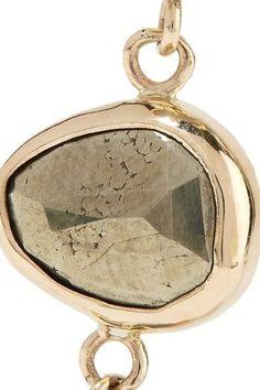 Melissa Joy Manning - 14-karat Gold, Labradorite And Pyrite Earrings - one size