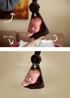 Newborn Posing Tips from Kimmy Howard Photography.
