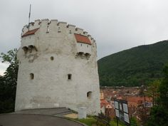 White Tower - Brasov Romania, Mount Rushmore, Tower, Mountains, Travel, Rook, Viajes, Computer Case, Destinations