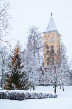 Belfry of the Lappee Maria Church(Lappeenranta, Finland) by sampok