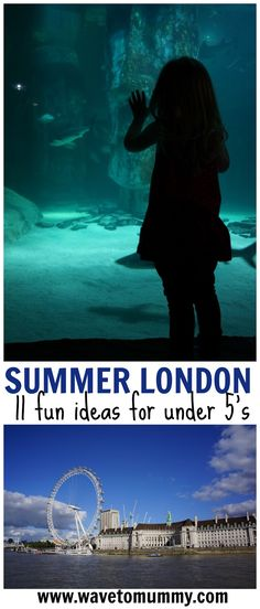 Top tips from a Londoner: 11 fun things to do in London with toddlers and pre-schoolers during the summer. Includes the best attractions for under 5's and several tips for free activities in London too! Recommendations such as London Aquarium, Zoo, museums, shop events and best parks!