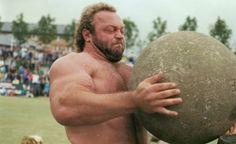 Bill Kazmaier stones of strength / atlas stones