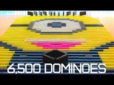 ▶ 6,500 Dominoes - Despicable Me Minion?! - YouTube