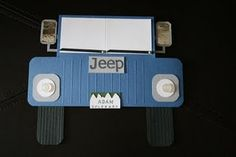 Jeep Birthday Card for My 4-Wheeling Hubs