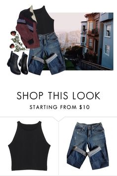 """Victorian"" by lsaroskyl ❤ liked on Polyvore featuring Sandro, DK, women's clothing, women, female, woman, misses and juniors"