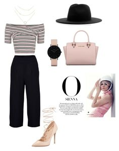 """""""Sin título #98"""" by pgha on Polyvore featuring moda, Topshop, Valentino, Études, CLUSE y Michael Kors"""