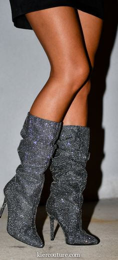 sparkly boots YSL similar   Jessica Simpson Layer boots