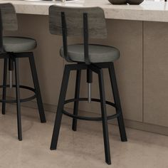 Nopah Range Adjustable Height Swivel Bar Stool