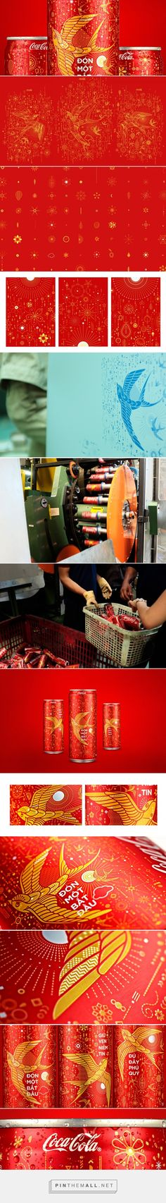 Coca-Cola Chinese New Year packaging design by Ki Saigon - http://www.packagingoftheworld.com/2016/11/coca-cola-tet-2017.html - created via https://pinthemall.net