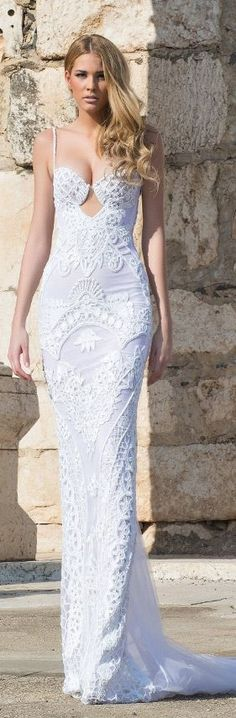 Shabi & Israel 2015 Wedding Dress Amazing Wedding Dress, Beautiful Wedding Gowns, Dream Wedding, 2015 Wedding Dresses, Bridal Dresses, Couture 2015, Fancy Gowns, Bridal Boutique, Playing Dress Up