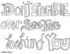 Thanksgiving Quote Coloring Page See More Dontstumble