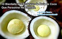 les 10 bienfaits de la pomme de noix de coco sur la santé