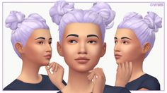 "plumbobjuice "" 3D Eyelashes • recolor/retexture of"