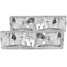 Anzo USA 111004 Chevrolet Crystal Chrome Headlight Assembly  Sold in Pairs ** Check this awesome product by going to the affiliate link Amazon.com at the image.