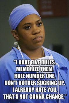 miranda bailey quotes | Grey's Anatomy Quotes: Miranda Bailey