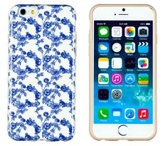 "iPhone 6 Case, DandyCase PERFECT PATTERN *No Chip/No Peel* Flexible Slim Case Cover for Apple iPhone 6 (4.7"" screen) - LIFETIME WARRANTY [Vintage Floral]. Slim-Fit design for the iPhone 6 (4.7"" screen). PREFECT PATTERN cases do not chip, peel, break, or stretch out. Anti-slip properties gives your iPhone 6 more grip on surfaces. Adds a small ""lip"" to your iPhone 6 so you can place it screen-side down and not worry about scratches. Precision cutouts allow full access to charging and…"