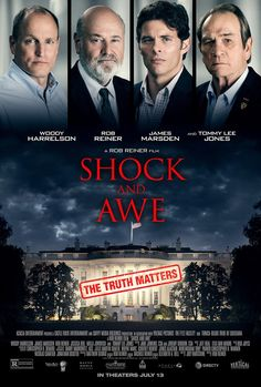Shock and Awe (2017) Directed & Produced by #RobReiner Starring #WoodyHarrelson #JamesMarsden #RobReiner #JessicaBiel #MillaJovovich #TommyLeeJones #ShockandAwe #Hollywood #hollywood #picture #video #film #movie #cinema #epic #story #cine #films #theater #filming #opera #cinematic #flick #flicks #movies #moviemaking #movieposter #movielover #movieworld #movielovers #movienews #movieclips #moviemakers #animation #drama #filmmaking #cinematography #filmmaker #moviescene Movie Talk, Love Movie, New Movies, Good Movies, Greek Words For Love, Film 2017, Film Theory, Tommy Lee Jones, Shock And Awe