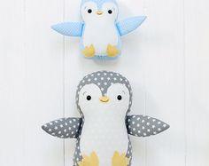 Pingüino peluche pingüino juguete pingüino juguete por Jobuko