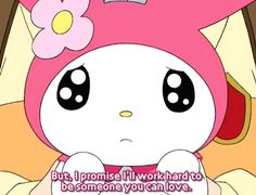 Find images and videos about gif, anime and kawaii on We Heart It - the app to get lost in what you love. Sanrio Characters, Fictional Characters, Hello Kitty My Melody, Cute Icons, Wholesome Memes, Reaction Pictures, Aesthetic Anime, Softies, Animal Crossing