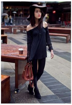 https://www.cityblis.com/item/1731  Asymmetrical Dress - $28 by FBHS  Colours available: Black  #