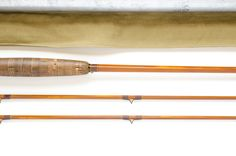 """Payne 107 model 2-piece 2-tip, 8'10"""" in length and weighing 5 3/8 oz. It is built for a #6 or #7 line. This is a rare model indeed. In fact when I asked a friend who is among the most knowledgable Paynes aficianados I know, he confessed to having seen only one in his entire life.This rare model dates from the 1950's and was only cataloged for one or two years."""