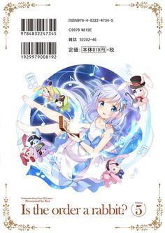 まんがタイムきらら編集部 @mangatimekirara 「ご注文はうさぎですか?」5巻、表紙大公開いたします! 夏らしい衣装に身をつつんだココアたちが眩しい…! 裏表紙にもご注目を! 発売日は8月27日(土)ということで、あと1カ月後にはお手元に…。2 #gochiusa