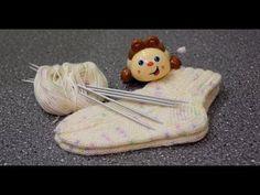 Вяжем детские носочки спицами. Носочки на любой размер. - YouTube Knitting Socks, Baby Knitting, Baby Socks, Slippers, Wool, Pattern, Youtube, Baby Knits, Quilts