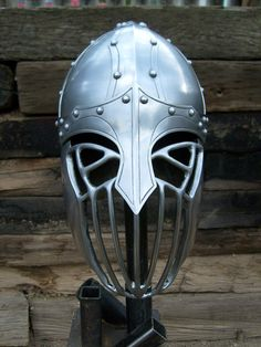 Spangen Helm for SCA combat. via Etsy  - made by a friend - gorgeous work  for sale