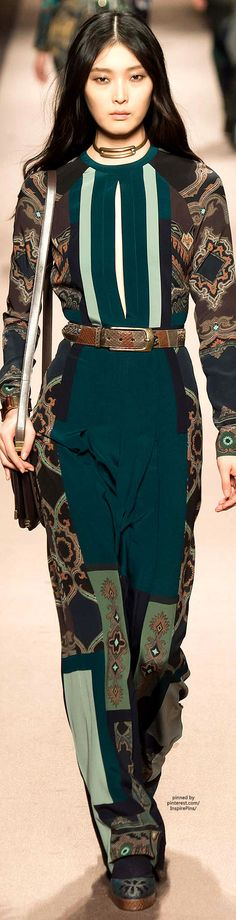 Etro FW2015 | Purely Inspiration