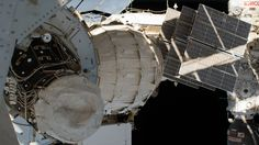 Space Station's Expandable Habitat The Bigelow Expandable Activity Module (BEAM) is seen attached to the Tranquility module of the International Space Station. BEAM is an is an experimental expandable habitat. Expandable habitats occasionally described as inflatable habitats greatly decrease the amount of transport volume for future space missions. September 30 2016