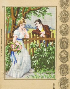 ru / Photo # 8 - People and stories - ignatik Mini Cross Stitch, Cross Stitch Charts, Cross Stitch Designs, Cross Stitch Embroidery, Cross Stitch Patterns, Knitting Patterns, Vintage Cross Stitches, Bead Crochet, Hobbies And Crafts