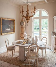 Reflections on Swedish Interiors - 2013 - Tara Shaw Design, Antiques, & Custom Maison Swedish Interiors, Dining Room, Dining Table, Swedish Design, Bird Houses, Reflection, Room Decor, House Design, The Originals