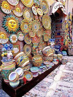 Le ceramiche di S.Stefano di Camastra (ME) Sicilia