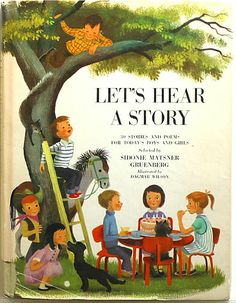 """Cover of """"Let's Hear a Story: 30 Stories and Poems for Boys and Girls"""" // via CURIO"""