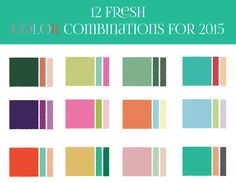 2015 color trends for weddings