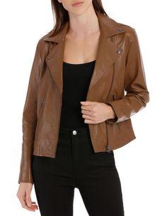 Women's Coats & Jackets | Shop Women's Coats & Jackets Online | MYER Suede Coat, Suede Jacket, Vegan Leather Jacket, Leather Jackets, Parker Jacket, Fur Waistcoat, Double Breasted Coat
