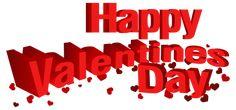 Happy Valentine's Day Transparent PNG Clip Art Image
