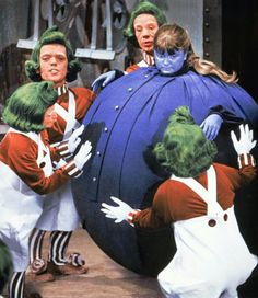 Willy Wonka & the Chocolate Factory. (Violet Beauregarde)
