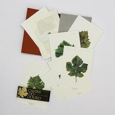 Colecção de 12 Postais sobre as Castas do Douro. / Set of 12 postcards about the leaf varieties of the Douro and Porto wines  www.comraiz.com https://www.facebook.com/comraiz