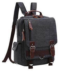 4537f50e150c Senkey style Men Canvas Backpacks Crossbody Shoulder Bag Mochila for Girls  Boys Teenagers Casual Travel male Rucksack Schoolbags