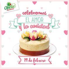 El amor más dulce es el de Obelie Pastelerías ;) Esperamos que disfrutes rodeado de las personas que más quieres! :D  #pasteldeguayaba #Obelie #sanvalentin
