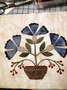 800 best Quilts: Applique Wool
