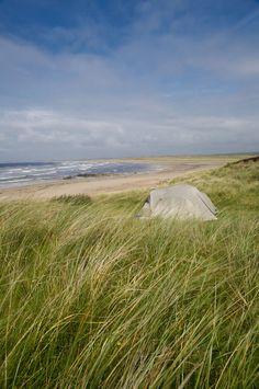 Camping on Isle of Islay