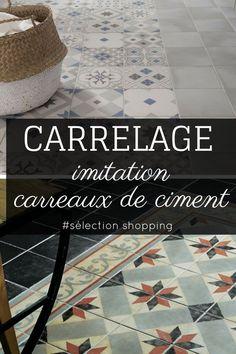 Imitation En Grès Cérame De Carreaux Ciment Cementine Color Terre - Carrelage imitation carreaux de ciment
