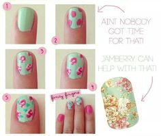 From Pinterest nail art to Jamberry...make your life easier!