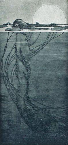"madivinecomedie: "" Fritz Hegenbart . Art and mammon, Jugend 1902 """