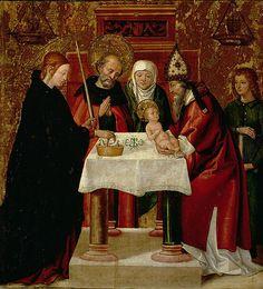 Juan de Borgona:The Circumcision and The Presentation in the Temple 1535