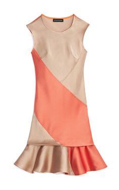 Shop Double Faced Jacquard Dress by Ostwald Helgason Now Available on Moda Operandi