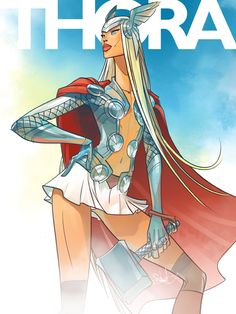 Otto Schmidt Thora ( Female Thor) Just thinking about next years Comic Cons