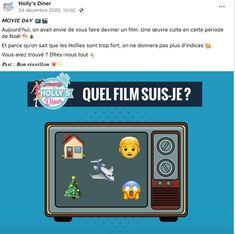 Noël Devinette Film Holly's Diner Film, Les Oeuvres, Movie, Film Stock, Cinema, Films